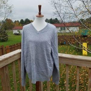 🌴VACA SALE🌴 L.L. Bean Grey Tall Sweater
